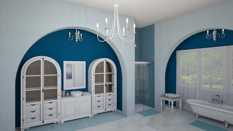 chandeliers - Bathroom  - by fippydude