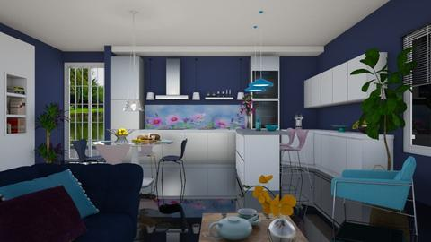Colour Play - Modern - Kitchen  - by janip