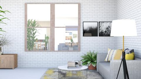 Living room and dining - Living room  - by iope