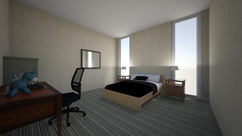 hotel bedroom - Bedroom  - by lyllian codd