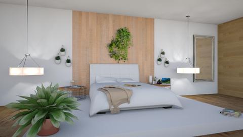 simplistic - Bedroom  - by natalieeyauu