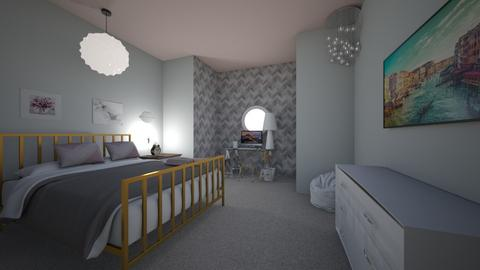 Teen Girl Bedroom  - Modern - Bedroom - by Shiloah Paxton