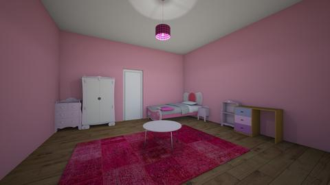 princess room  - Kids room - by youngsu27