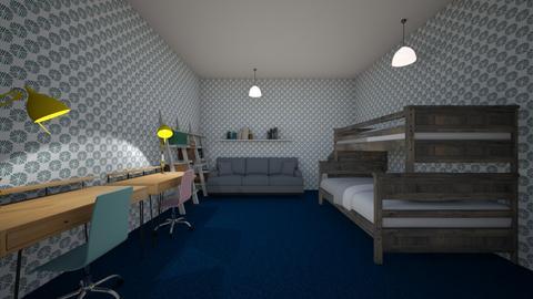 2 room boy  girl - Kids room  - by CW THE HARRY POTTER FAN