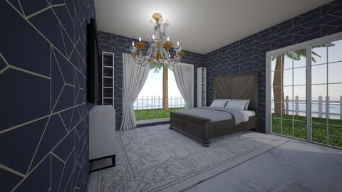 chandelier and sunset - Bedroom  - by DelilahRose04