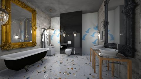 Bath_Interior - Modern - Bathroom  - by Nikos Tsokos