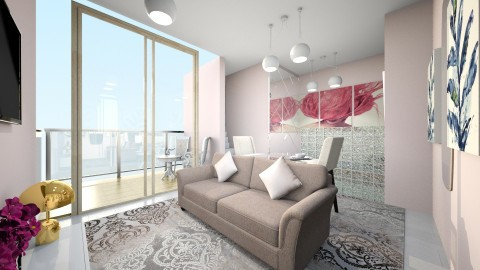 casa Da fazenda  - Rustic - Living room  - by kelly lucena