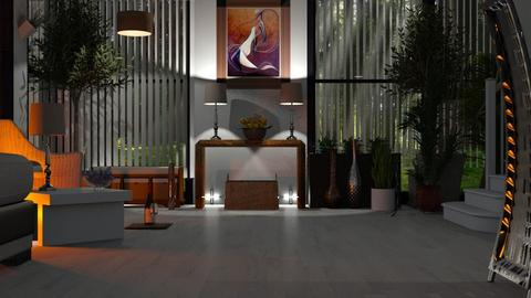 MADSEN template - Modern - Living room  - by Sue Bonstra