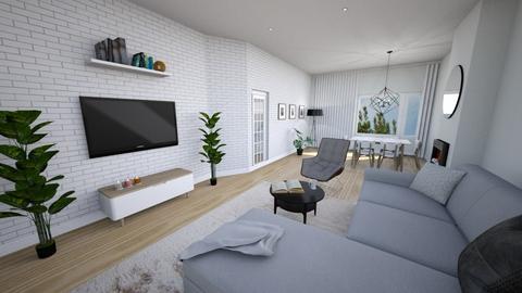 rekrutacja5 - Living room  - by annamcias