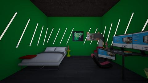 dreams room - Bedroom  - by crying_room