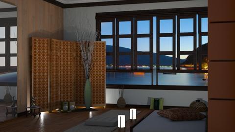 YOGA - Living room  - by nat mi
