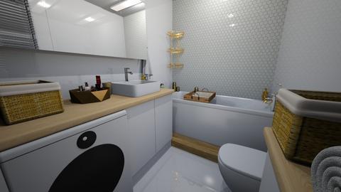 lazienka - Bathroom  - by SA_Karpinska