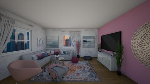 Pink love - Living room - by MissT9