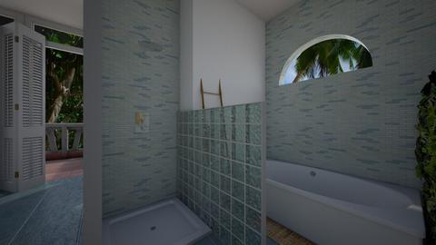 Island Vibes bath - Bathroom  - by BeachGirl84
