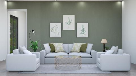 Modern green Living - Modern - Living room  - by Aristar_bucks
