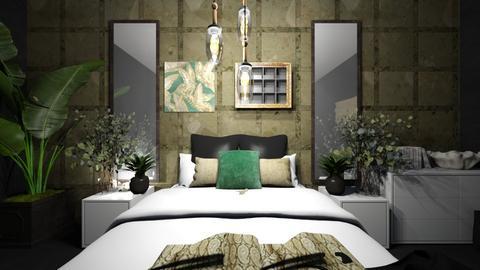 green marble - Bedroom  - by makkic