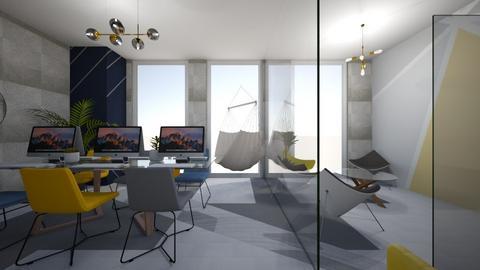 modern office - Office - by ellejay_1207