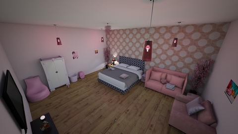 pink room  - Bedroom  - by mferris73