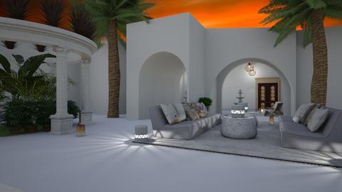 Resort_Evening Light - by Feeny