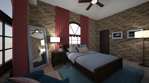 Mi habitacionn - Bedroom  - by Marifelmtz