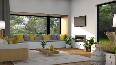 586 - Modern - Living room  - by Claudia Correia