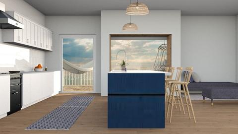 Ocean kitchen - Kitchen  - by kaiaa