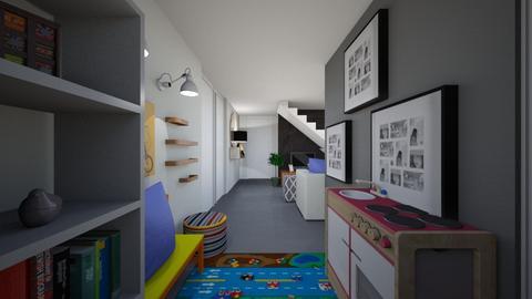 INGRID BASEMENT PROJECT D - Eclectic - by Aurel Design Studio