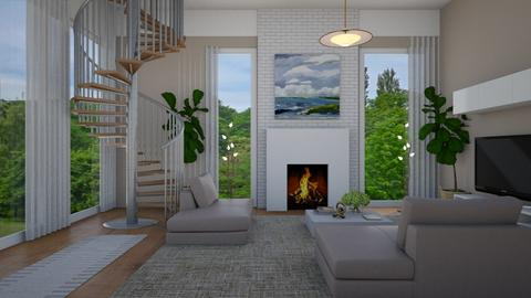 To Breathe For - Modern - Living room  - by timeandplace