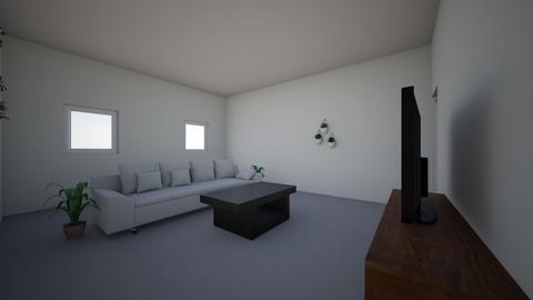 Math Assignment House pla - Living room - by hognoca