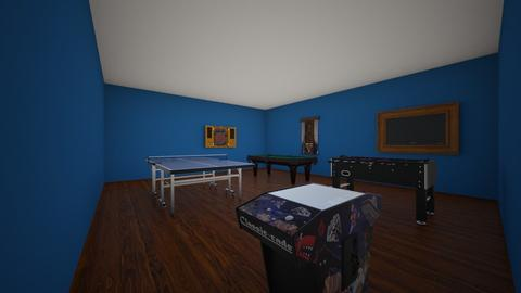 Warn Game Room - Retro - Living room  - by kwarn8236