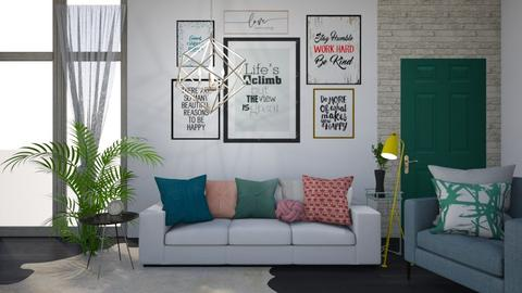 Simple Inspiration - Living room - by jo0207