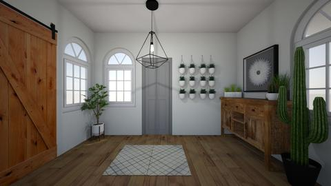 rustic chic entrence - Rustic - by izzymondo