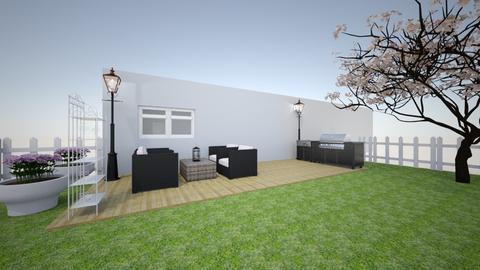 Modern - Living room  - by zmule