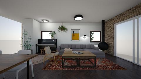 Limor Weissbard 61 - Living room  - by erlichroni