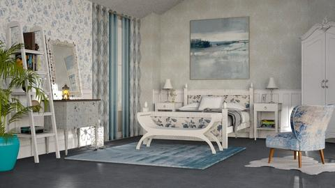 S_Shabby Chique - Vintage - Bedroom - by Shajia