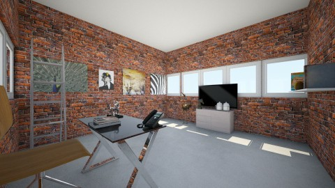 modern office - Modern - Office - by Madelyn Kitteridge