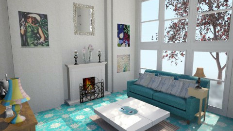 Lilliyan - Country - Living room  - by SariJo