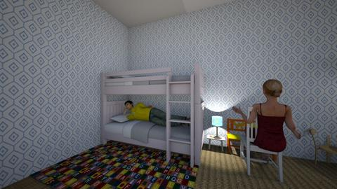 Childrens room 2 - Modern - Kids room  - by melelema