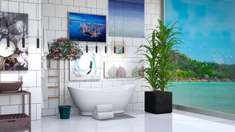 Island Vibes Bathroom - by Horse_Lover_Mel