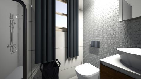 uni apartment - Classic - Bathroom  - by zaryah123