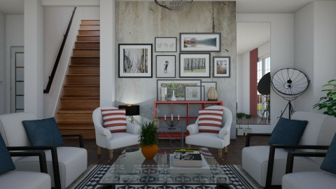 This is what you came for - Eclectic - Living room  - by Lucii