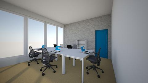 office 8_06 new situation - Modern - Office - by twagoo