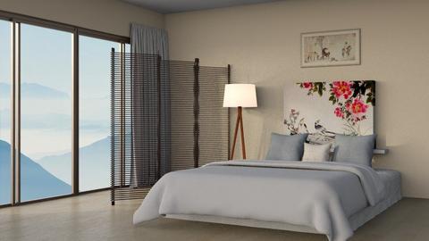 Feng Shui - Minimal - Bedroom  - by kitacat