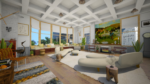 Seasoned Designers - Eclectic - Living room  - by russ