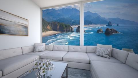 Big Windows - Living room  - by josielz