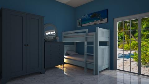 beach bedroom - Bedroom  - by Max30