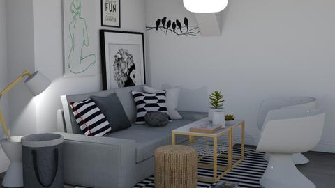 II - Living room  - by EDeb