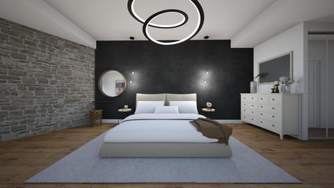 bedroom - Modern - Bedroom  - by stefaniajaram