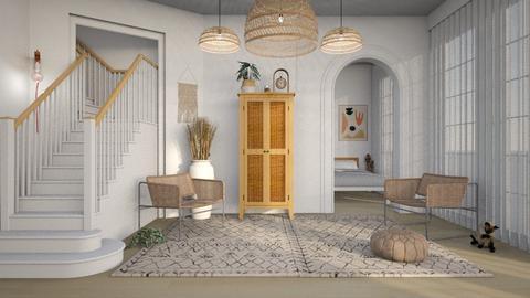 BOHO - Living room  - by diegobbf