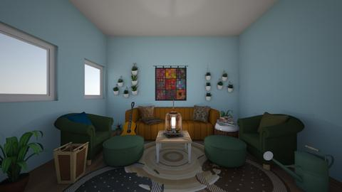 Bohemian living room - Living room - by AJLoveDesigns
